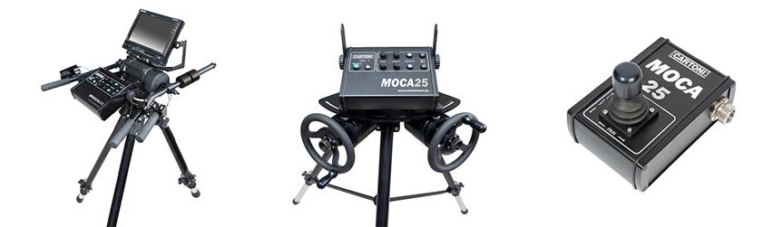 MovieTech-MOCA25-Bedienelemente